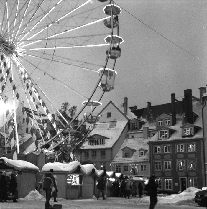 Latvia. Christmas fair